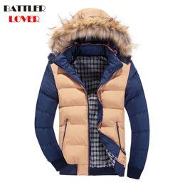 Wholesale Napapijri Winter Jacket - 2017 Jackets Men Winter Coat Thick Cotton Parkas Homme Jacket Mens Brand Clothing Napapijri Parka Mans Fashion Slim Down Jackets