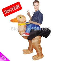 Wholesale Mascot Costumes Fans - Purim Halloween Christmas Party Costumes Fan Operated Adult Kids Fancy Dress Suit Inflatable Dinosaur mascot Costume