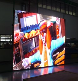 Wholesale Outdoor Color Display - outdoor full color PH5 LED display shop store mall bar windows showcase advertisement screen sign video