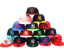 Wholesale Ny Snapback Adjustable - New NY Baseball Caps Snapbacks Hats Adjustable Cap Popular Hiphop Hat Men Women Ball Caps Christmas Gifts Snapback Sport cap Factory Price