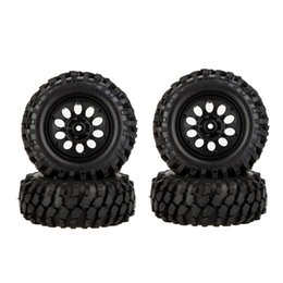 Wholesale New Electric Car Tires - 4Pcs Brand New 1 10 RC Climber Off-road Car Wheel Rim and Tire with Protective Sheet for Traxxas HSP Tamiya HPI Kyosho Part