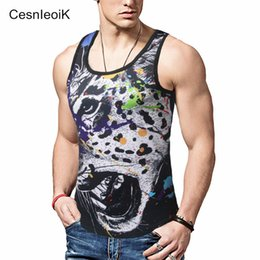 Wholesale Fitness Modelling - Wholesale- 2017 Summer Fitness Tank Top New T Shirt Plus Size Loose Model men T-shirt Cotton O-neck Slim Tops Fashion man Clothes Y34