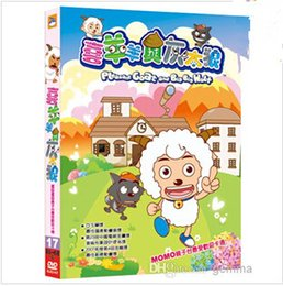 Wholesale Film Animations - Hot selling DVD movie for children DVD Movies TV series xiyangyang huitailang Cartoon movies Children Film