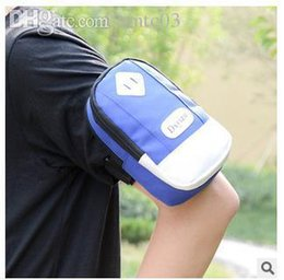 Wholesale Arm Wallets - Wholesale-New design, outdoor sports arms bag Men and women's wallet Couples Mobile phone package