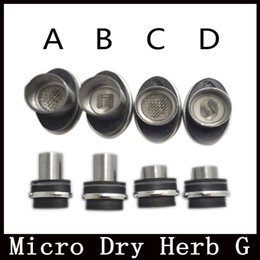 Wholesale Coils For Micro G Pen - Rebuildable atomizer coils for micro dry herb g Vaporizer herbal vaporizer pen Wax dry herb atomizer e cigarette herb vapor cigarettes core