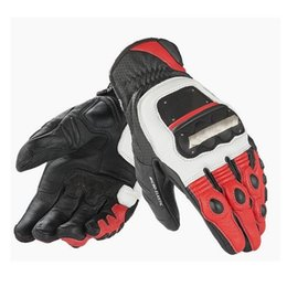 Wholesale-2015  Original GUANTO 4 STROKE EVO Motorcycle gloves Genuine Leather Gloves Cycling Racing Driving MOTO GP Blaster Gloves cheap motorcycle driving gloves от Поставщики мотоциклетные перчатки