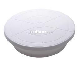 "Wholesale Cake Turntables - Fashion Hot Pro 11"" Rotating Revolving Cake Sugar craft Turntable Decorating Stand Platform"