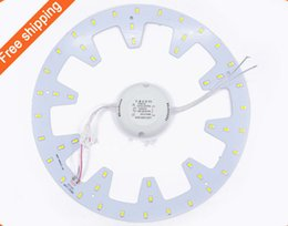 Wholesale Board Mounted - Sale 2015 new 24W LED PANEL Circle Light 220VAC SMD 5730 LED Round Ceiling board the circular lamp board for Dining room