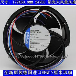 Wholesale Large 24v Fans - New Original EBM PAPST 6314 17TDHHP 17cm 24V 2.67A large wind cooling fan