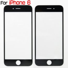 Wholesale Iphone 4s Outer Glass - A+ quality outer glass lens For iphone 6 6 plus front glass Replacements for ip5 5s 5c 4 4s