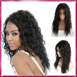 Wholesale Blonde Medium Hair Styles - Hot selling 2016 new arrival unique style swiss lace 100% virgin human hair full lace wig with natural appearance