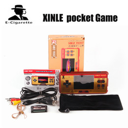 Wholesale Games Hands - XINLE pocket Game 638 games children's handheld game player 3.0 inch color screen game console hand-held gaming device