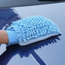 2019 canhão de mão Arruela de lavagem super 1203 # 03 do carro das luvas da limpeza da lavagem de carros de Microfiber da luva super