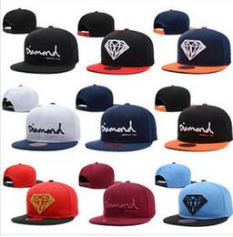 Wholesale Snapback Wine Red - 2015 new style Wine Red Diamond Hat Baseball HipHop Snapback new popular fashion women denim baseball cap
