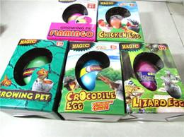 Wholesale Wholesale Kids Amusement Toys - Novelty Games large Hatching eggs toys Easter Egg expansion of children's toys Amusement education Toys for kids Multiple eggs hot 100016