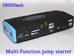 Haute qualité 38000mAh voiture Jump Starter Multi-Fonction Portable 12V Essence / Diesel voiture démarrage alimentation chargeur de téléphone Power Bank batterie pack ? partir de fabricateur