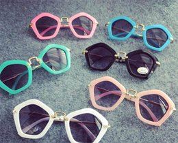 Quadros infantis modernos on-line-6 cores crianças pengaton óculos de sol quente verão nova chegada na moda meninos meninas branco preto uv400 óculos de sol da moda quadro crianças eyewear i4553