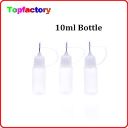 Wholesale Bottle Caps Wholesale Prices - Cheaper Price Empty Bottle 10ml Empty Bottle for E Cigarette Needle bottle Childproof Cap Plastic Dropper Bottles E Liquid Bottle Oil Bottle