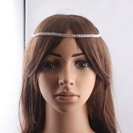 Wholesale Glitter Headbands For Women - 2014 New Glitter Crystal Rhinestone Headband Wedding Bridal Hair Jewelry Hair band Hair Accessories for Women JJAL ZH100