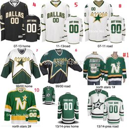 Wholesale Road Stars - Factory Outlet, 1999-pres season Custom any name NO. SIZE Dallas Stars Jersey home road goalie cut jersey mike modano Dino Ciccarelli jersey