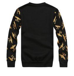 Wholesale New Fashion Brand Boy S - Wholesale-2015 New fashion for women men hoody boy london hippie sweatshirt pullover plus size Eagle hip hop brand sportswear hoodies