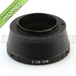 Wholesale Micro Thirds - Lens Adapter Ring for M42 Lens to Micro Four thirds M4 3 Mount Camera M42-M4 3 Adapter Ring Olympus E-P1 E-P2 GH1 GF2