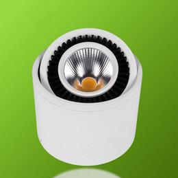 Dimmerabile Nuovo COB girevole a 360 gradi LED da incasso 7W 10W 15W Spot Led Plafoniera montato a soffitto AC110V / AC220V da
