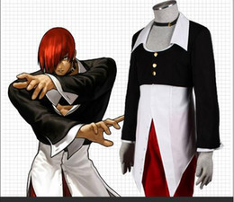Wholesale God Japanese - KOF eight gods KOF game cosplay 2017 new memories after 80 after 90 The King of Fighters Cosplay Costume King of Fighters