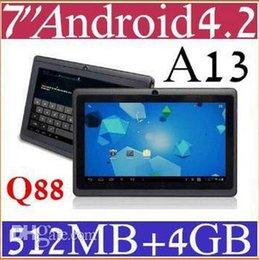 """Wholesale Tablet A13 Touch - 10PCS Cheap 7"""" inch Capacitive Allwinner A13 Android 4.2 Tablet PC 4GB 512MB WiFi EPAD 2013 PB7-1"""