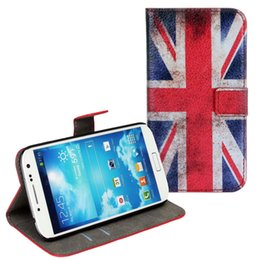 Wholesale Usa Flag Galaxy S4 - Wholesales New Arrival Retro USA UK Flag For Samsung Galaxy S4 I9500 S5 G9006V