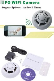 Wholesale Wifi Fit - WIFI Camera HD Smoke Detector Cam Wireless Camera Video Recorder Monitor Q8 Fit IOS Androd