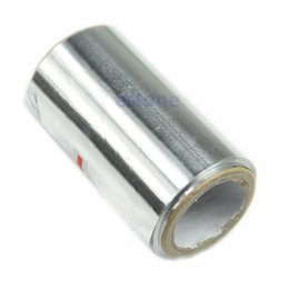 Wholesale Machining Aluminum - 50M Art Hair Nail Tinfoil Aluminum Foil Thick Hairdressing Standard New Free Shipping