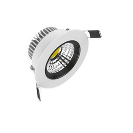 Wholesale 7w Cob Led Driver - High Quality COB LED Downlight 3W 7W 10W Dimmable Recessed Down Light Ceiling Spain Style Bedroom LED Lamp + Driver Warranty 3 years