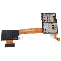Wholesale Sim Card Micro Sd Reader - Replacement Mobile Phone Flex Cable For Sony Xperia M2 D2303 D2305 D2306 Micro SD card Reader, SIM card Reader module D1561 W0.5