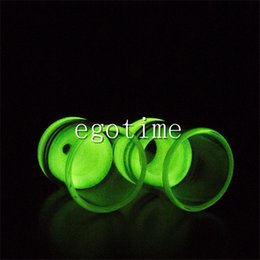 Wholesale Large Pyrex - Luminous Glass Drip Tips Wide Bore Drip Tip Large Pyrex Atty 510 EGO Atomizer Mouthpieces for CE4 CE6 Protank EVOD EGO T E Cigarettes