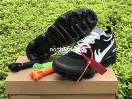 Wholesale Big Women Rubber - New 10X Off White Vapormax Running Shoes For Men & Women, AAA Quality Big Air Cushion Off-white Vapormax Sport Sneakers Eur 36-45