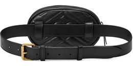 Wholesale Black Money Bag - NEW PU men's Waist Bags women Fanny Pack bags bum bag Belt Bag Women Money Phone Handy G Waist Purse Solid Travel Bag Black red Pink 3 color