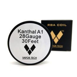 Vapor Tech Ni200 Filo di nichel 30 piedi con calibri disponibili E Sigarette RBA bobine per mod atomizzatore mod atomizzatore DHL Free FJ663 da