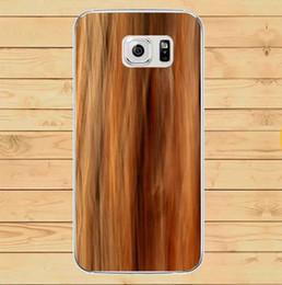 Wholesale Rubber Wood Grain - For Samsung Galaxy S7 G930 Soft TPU Silicone GEL Phone Case 3D Wood Tree Scenery Wall Grain Stereo Annual Ring Stump Rubber Back Skin Luxury