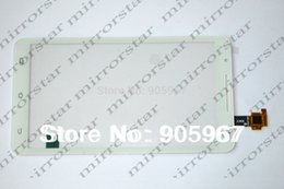 Wholesale Note2 Glass White - Wholesale-NEW original Capacitive Touch Screen panel glass Digitizer For Star Note2 N9776 U89 MTK6577 cell phone White   Black