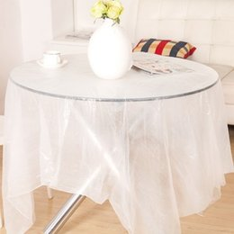 Wholesale Waterproof Restaurant Tablecloths - Disposable Tablecloth Tablecloth Restaurant Essential Table Waterproof Anti-oil Tablecloth 10 Pieces