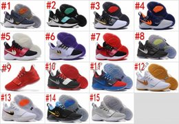 Wholesale Angeles Bowls - 2017 Top quality Paul George PG1 Shining Ferocity Men's Basketball Shoes for Cheap Sale PG 1 Los Angeles Home Sports Sneakers Size 40-46