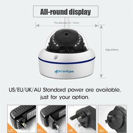 Wholesale Suneyes Wifi Wireless - SunEyes SP-V1802W 1080P Full HD Mini IP Camera Dome Outdoor Weatherproof Wireless Wifi ONVIF and Free P2P IR Night Vision