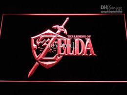 Wholesale Video Sign - e040-r Legend of Zelda Video Game Neon Light Sign