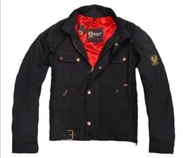 Wholesale Mens Gangster - Fall-new gangster Chaqueta Jacket Mens Short blouson Jackets man Motorcycle gangster Jacket free ship
