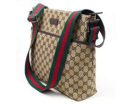 Wholesale Shoulder Vintage Handbags - Luxury Handbags Women Bags Designer Brand Famous Shoulder Bag Female Vintage Satchel Bag Canvas beige Crossbody Shoulder Bags