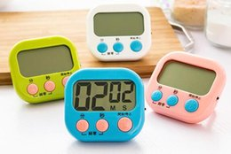 Wholesale Digital Count Up Down Timer - Large LCD Digital Kitchen Cooking Timer Count-Down Up Clock Loud Alarm Magnetic