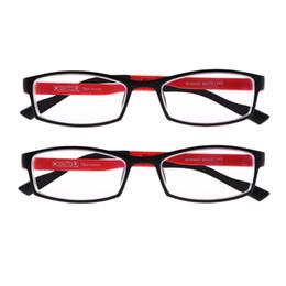 Venta al por mayor- miopía gafas de distancia roja Miopía Miopía vista corta Inicio trabajo espectáculos en 7 fortalezas -1.0 a -4.0 Nuevo! desde fabricantes