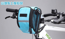 Wholesale Led Car Handle - Candy Color Handle Bar Bags bicycle hire the car first car hanging bags leading bags cycling equipment 2016 Spring Style