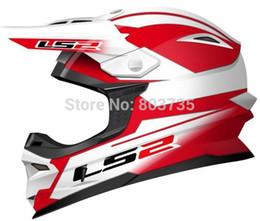 Wholesale Ls2 Helmets Mx - Wholesale-Ls2 MX456 Motocross Helmet Moto MX Helmets Motorcycle Racing Capacete Casco Parts Dakar Rally Champion